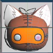 3Dモデル「幻想珍獣たこすけ」進捗