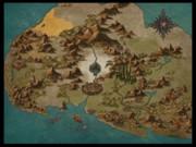 ダイアロス島地図(地名なし)