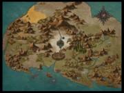 ダイアロス島地図(モンスター入り)