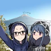 しまりんと大垣 千明(ゆるキャン△