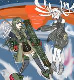 瑞鶴VS深海鶴棲姫