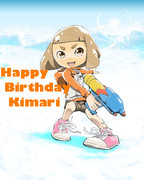 HAPPY BIRTHDAY KIMARI