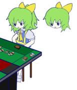 計算ミスでコンボを開始できずに呆然とするDIYUSI.mihara