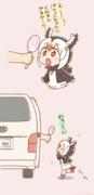 パフィンちゃんにいっぱいお菓子食べさせ隊シリーズその6