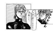 インタビューを受ける花京院先輩