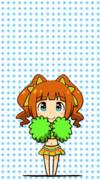 【GIFアニメ】夏色チアガールやよいちゃん