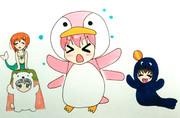 ペンギン花名ちゃんと愉快な仲間たち