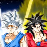 究極の神の力と究極のサイヤの力