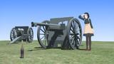 フランスの野砲