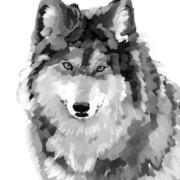 狼 ニコニコ静画 イラスト