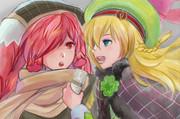 ミクサとリンちゃん