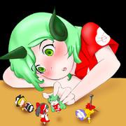 お人形遊びの世界でふたりっきり