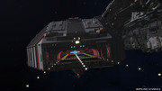 【MMD】宇宙空母着艦デッキのテスト