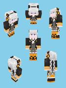 【Minecraft】紲星あかり_VOCALOID衣装【2018.05.07更新】