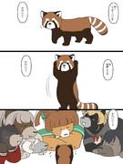 艦クマとパンダ