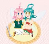 トリティアちゃん&フゥミィちゃん