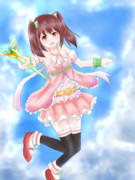 「魔法少女チエリです!」