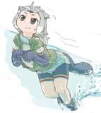 すぃーっと遊泳!