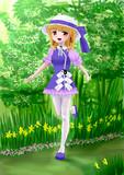 春の諏訪子様