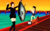【MMD】せいぜいもオオマ捕獲を素晴らしい!!