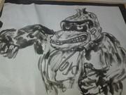 ドンキーコングをかっこよく描きたかった