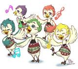 ゼルダの伝説 ブレス オブ ザ ワイルド リト族の五姉妹