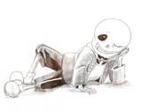 リラックスする骨