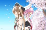 桜の雨が降る日