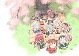 お花見シラツユーズ