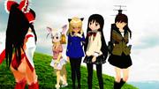 """霊夢「日本のアニメやゲームには""""百合""""がいるって本当?」"""