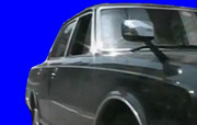 黒塗りの高級車BB