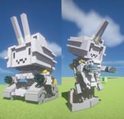 #Minecraft パーフェクト連装砲ちゃん  #JointBlock