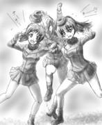 【ガルパン】ポンコツエリカを隠せー!