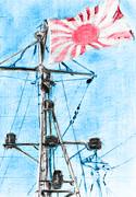 軍艦旗(加筆)
