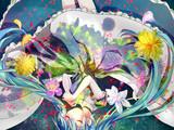 花束ワンピース