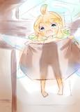お風呂へ誘う妖精さん