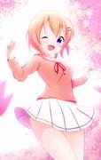 きらきらの桜