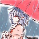 どこに行くのこんな雨の中