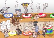 赤ちゃんフレンズ達と回転寿司