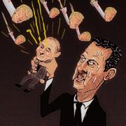 米、仏、英連合VS露、シリア