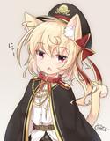 軍服×ケモ耳フランちゃん