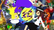 【第10回東方ニコ童祭特設サイト用イラスト】2人の幻想巡り
