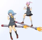魚雷に乗る。