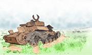 占守島(九七式中戰車)(加筆)