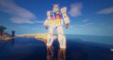Minecraft」対戦用機体作成中8「jointblock
