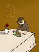 【コラ】鳥マンと唐揚げ【Twitterネタ】