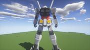 Minecraft」対戦用機体作成中9「jointblock