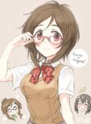 眼鏡歌鈴ちゃん
