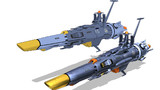 MMD宇宙戦艦ヤマト 護衛艦