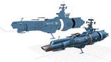 MMD宇宙戦艦ヤマト 巡洋艦